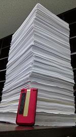 2014年経営塾ベーシックコース第4回に提出された宿題の山です。