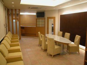カフェ風の素晴らしい待合室