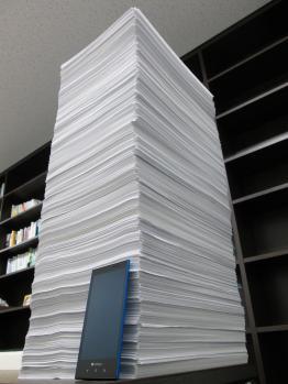 2013年経営塾ベーシックコース第3回に提出された宿題の山です。