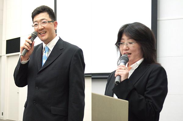 経営塾でゲスト講師として、小窪先生と大田さんにお話いただきました。多くの参加者が感動の涙を流しました。